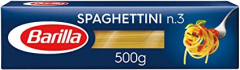 MACARRÃO SPAGHETTINI N° 3 GRANO DURO LONGA BARILLA 500 GR