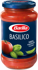 MOLHO DE TOMATE BASILICO VIDRO BARILLA 400 GR