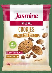 COOKIES INTE. AVELÃ C/GOTAS CHOCO JASMINE 150GR