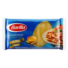 LASANHA MASSA COM OVOS BARILLA 200GR