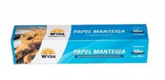 PAPEL MANTEIGA 50M X 29CM WYDA 1 UNIDADE