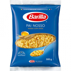 PAI NOSSO MASSA COM OVOS BARILLA 500GR