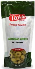 AZEITONAS VERDES FATIADAS CONSERVA RAIOLA PACK 300GR